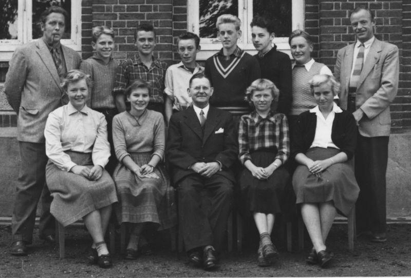 Realklassen aug 1955