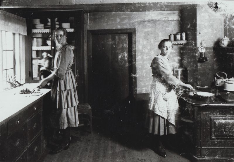 To køkkenpiger Billede (7)