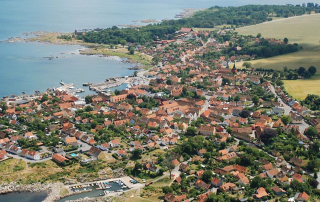 Luftfoto Svaneke