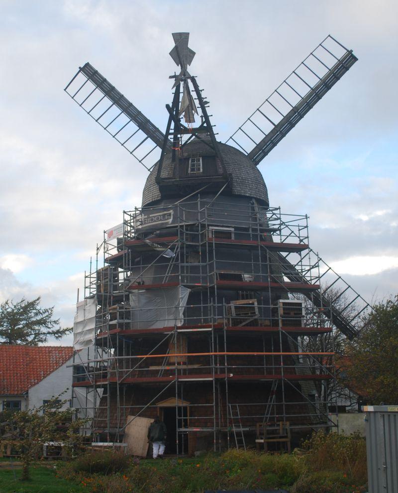 Svanemøllen renoveres 2013