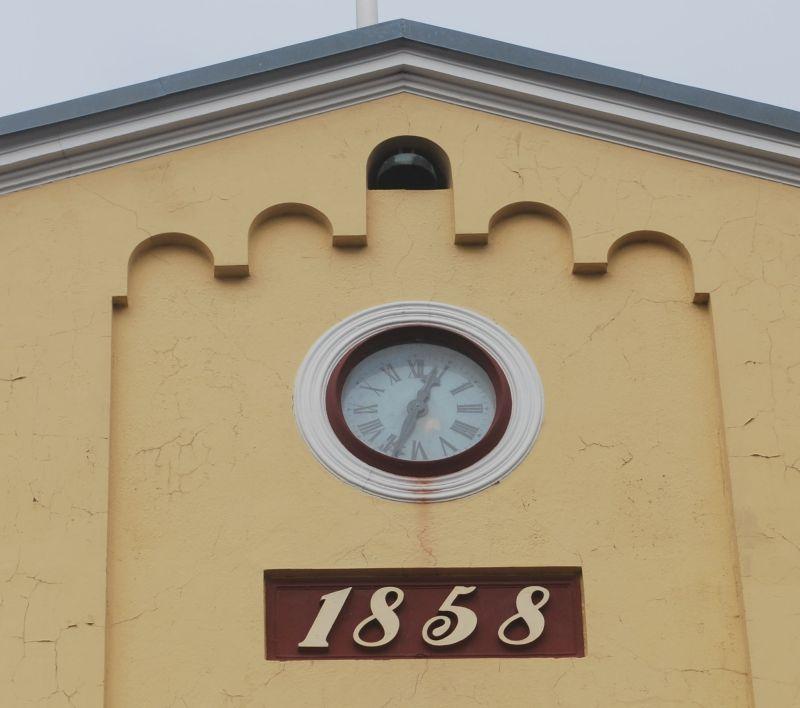 Uret på Svaneke Rådhus