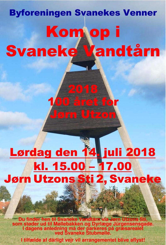 Indbydelse til åbent vandtårn 14 juli 2018_b