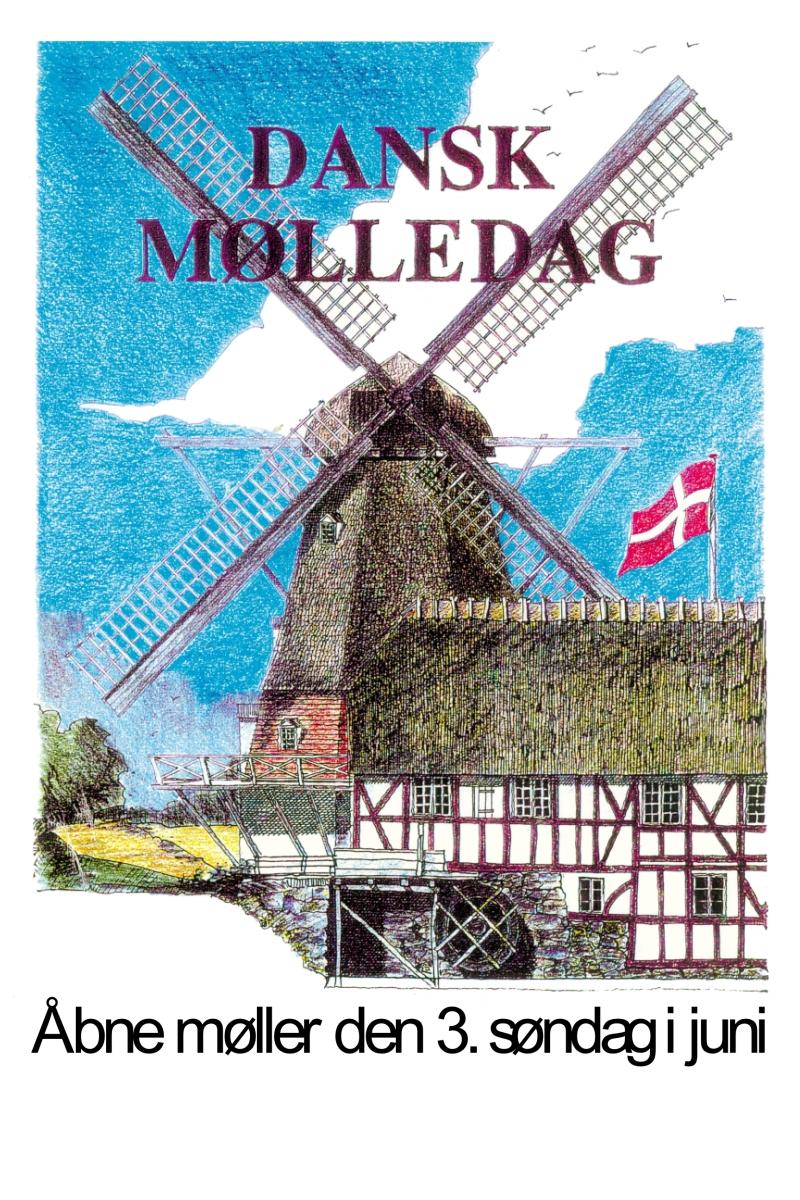 Plakaten  Dansk Mølledag