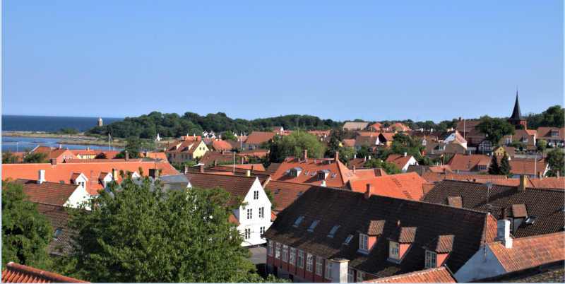 Billede - Kend din by lyseblå